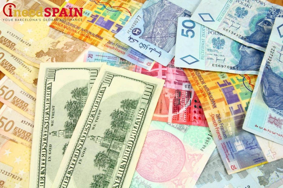 currency exchange in barcelona